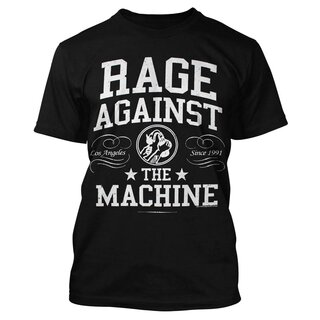 Rage Against The Machine T-Shirt - Crown Logo
