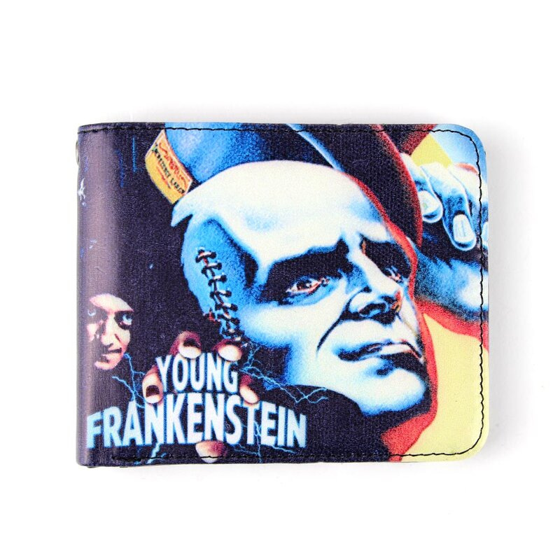 Young Frankenstein Wallet - Creation
