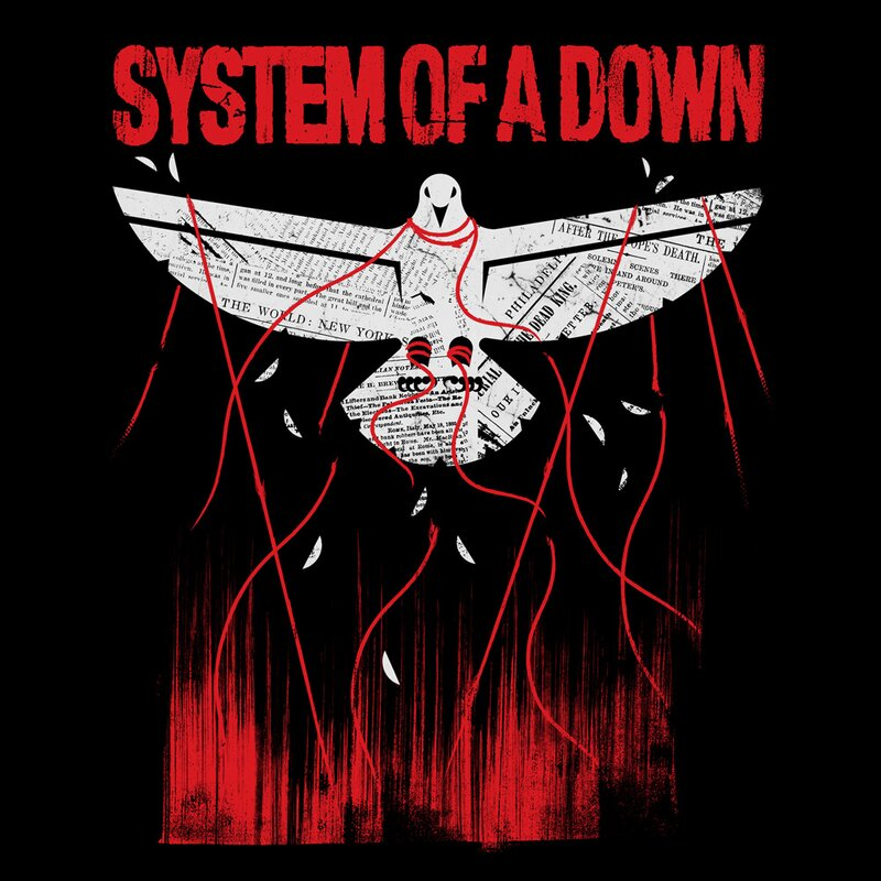 System of a Down t-shirt-Death