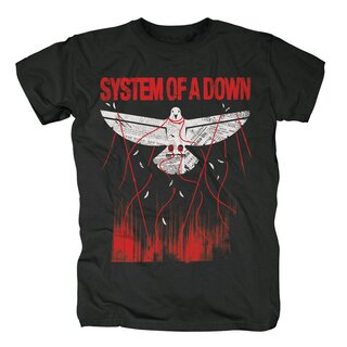 System Of A Down T-Shirt - Overcome