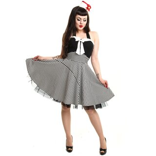 Rockabella Neckholder Kleid - Marina Dress Weiß