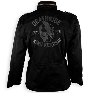 king kerosin kevlar biker jacke speedforce death ride s. Black Bedroom Furniture Sets. Home Design Ideas