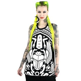 Killstar Muscle Tank Top - Scarab