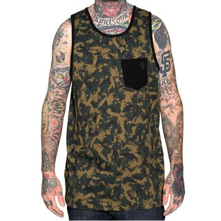 Sullen Art Collective Tank Shirt - Tat Machine