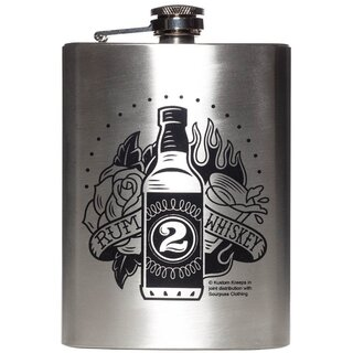 Sourpuss Flask - Rum To Whiskey