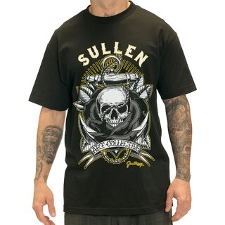 Sullen Art Collective T-Shirt - Anchors Away Schwarz