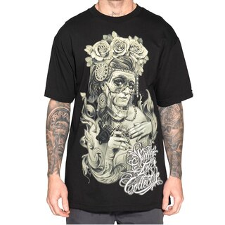Sullen Art Collective T-Shirt - Victorian Ink Schwarz