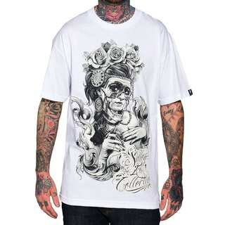 Sullen Art Collective T-Shirt - Victorian Ink Weiß