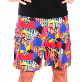 Superman Badeshorts - Colour Logo
