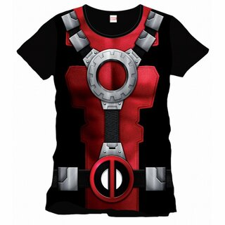 Deadpool T-Shirt - Armour Costume