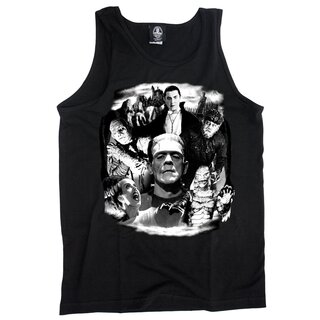 Frankenstein & Friends Tank Top - Original Monsters