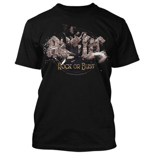 AC/DC T-Shirt - Rock Or Bust Explosion