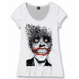 Batman Girlie T-Shirt - Bat Joker