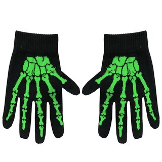 Rock Daddy Gloves - Bones Green