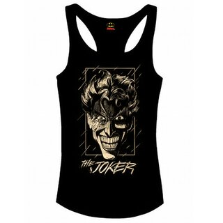 Batman Girlie Tank Top - Joker In The Rain