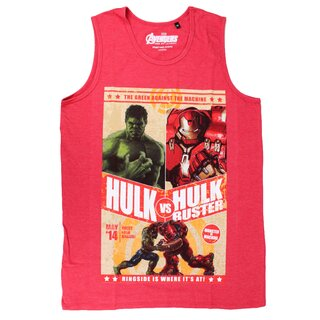 The Incredible Hulk & Iron Man Tank Top - Hulkbuster