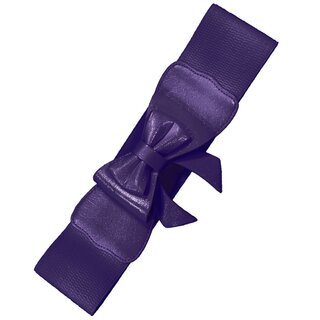 Banned Stretch Belt - Play It Right Purple