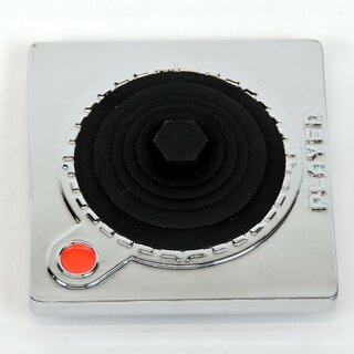 Belt Buckle - Turntable