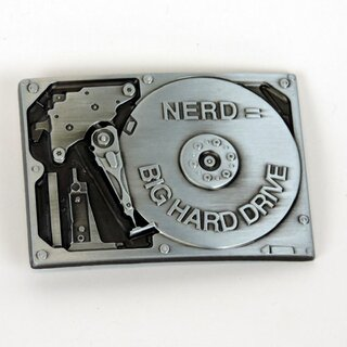 Belt Buckle - Big Hard Drive