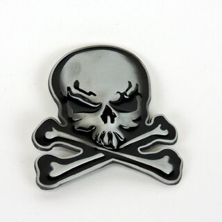 Belt Buckle - Danger Skull