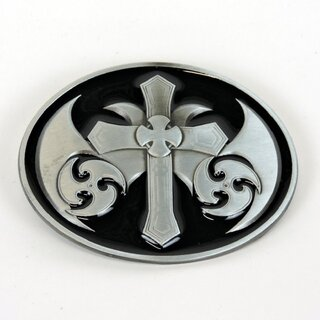 Belt Buckle - Tribal Cross