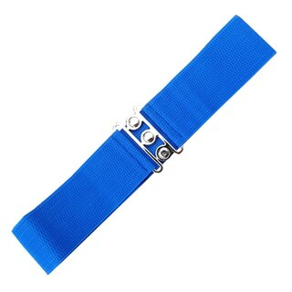Banned Stretch Belt - Vintage Bond Blue