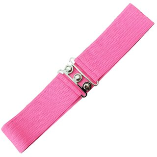 Banned Stretch Belt - Vintage Bond Pink