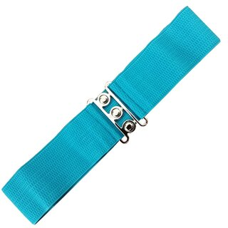 Banned Stretch Belt - Vintage Bond Turquoise