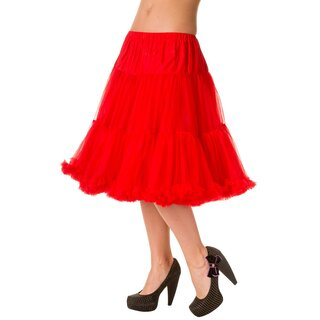 Banned Petticoat - Starlite Red