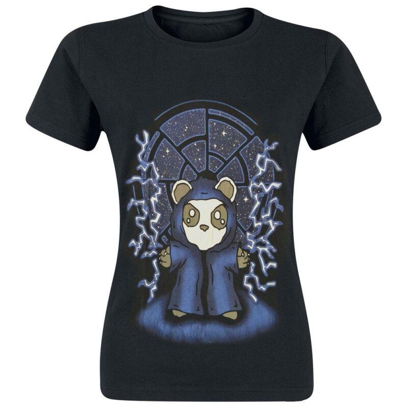 killer panda damen t shirt darkside 16 90. Black Bedroom Furniture Sets. Home Design Ideas