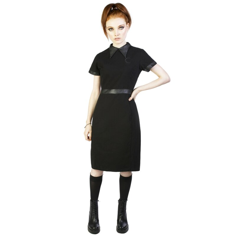 disturbia gothic kleid temple dress 64 90. Black Bedroom Furniture Sets. Home Design Ideas