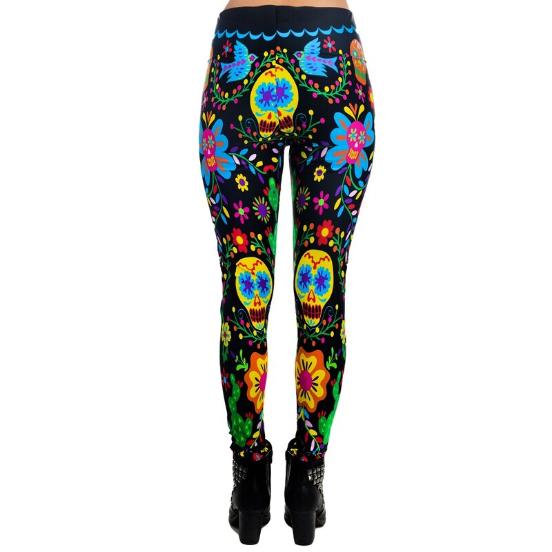 Too Fast Leggings  Mexican Embroidery 3995