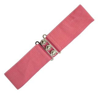Banned Stretch Belt - Vintage Bond Coral Pink