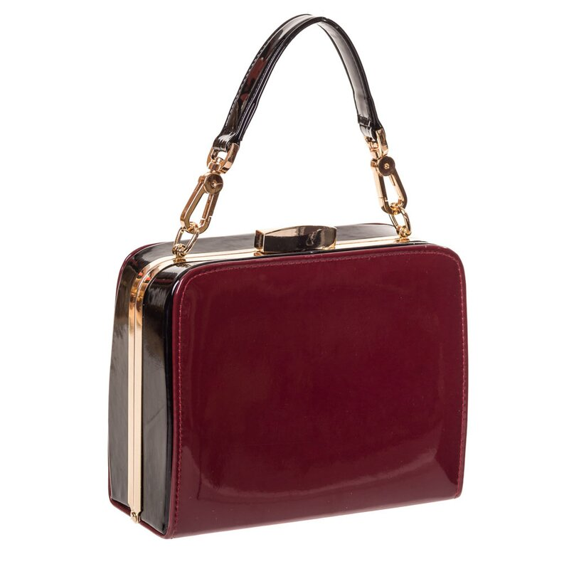 Banned Vintage Handbag - No Mercy Bordeaux