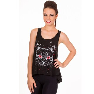 Banned Girlie Tank Top - Eye Catcher Vest