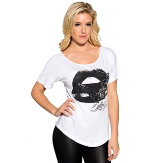 Sullen Angels Girlie T-Shirt - Kiss Of Death