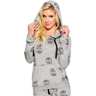 Sullen Angels Hooded Jumper - Icon Skull