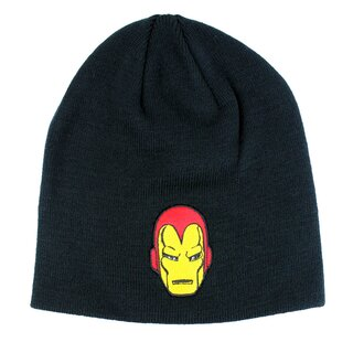 Iron Man Beanie - Iron Mask