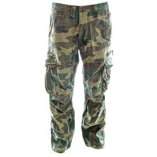 Molecule Cargo Trousers - Classic Camouflage