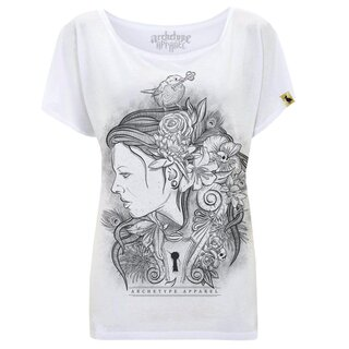 Archetype Apparel Ladies Boat Neck T-Shirt - Keyholder
