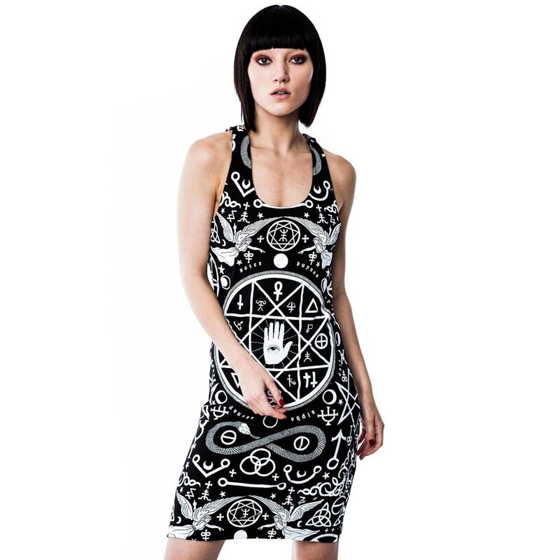 Killstar Mini Dress - Cult Pentagram Strap, € 49,90