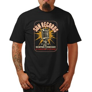 Sun Records by Steady Clothing T-Shirt - Electric Mic
