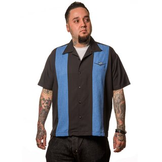 Steady Clothing Vintage Bowling Shirt - Classic Cruising...