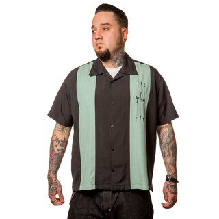 Steady Clothing Vintage Bowling Shirt - The Shake Down...