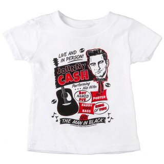 Johnny Cash Kids T-Shirt - Flyer