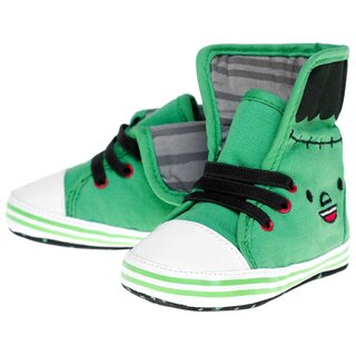 Sourpuss Babyschuhe - Monster Sneakers Grün