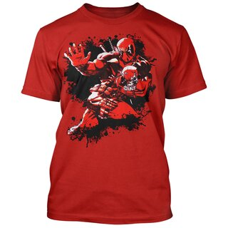 Deadpool T-Shirt - Bite Me Splash