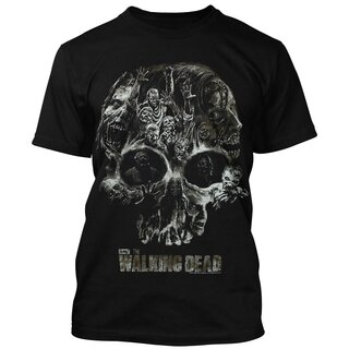 The Walking Dead T-Shirt - Walker Skull