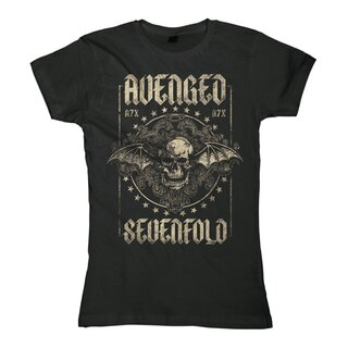Avenged Sevenfold Damen T-Shirt - Death And Glory
