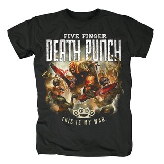 Five Finger Death Punch T-Shirt - This Is My War
